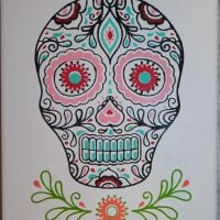 Skull On Canvas #1