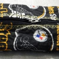 Steelers Inspired Tissue Holder / Small Case