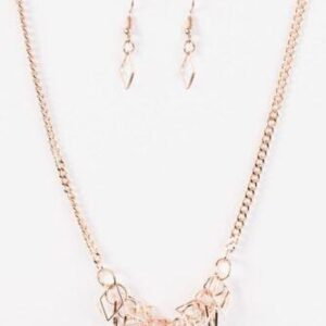 Beast Mode Rose Gold Necklace