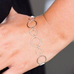 World Of Shimmer Silver Bracelet