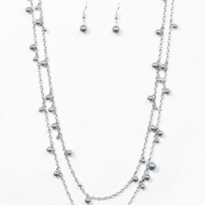 A Good Glam Is Hard To Find Silver Necklace