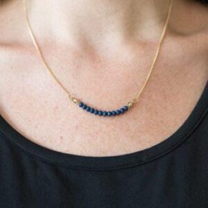 Country Roads Blue Necklace