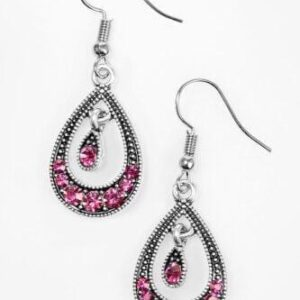 Downtown Princess Pink Earring