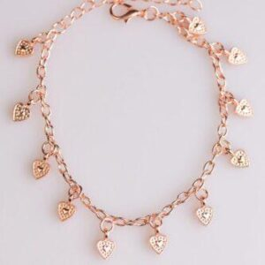 Closer To The Heart Copper Bracelet