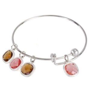 Adjustable Wire Blank Bangle Bracelet