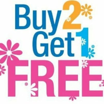 Buy 2 Get 1 FREE – Continued This Week