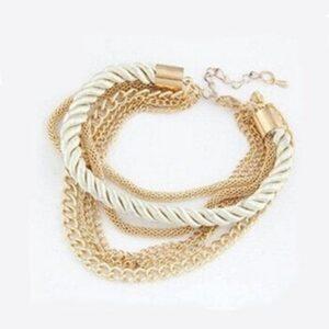 Hand Woven Rope Chain Bracelet