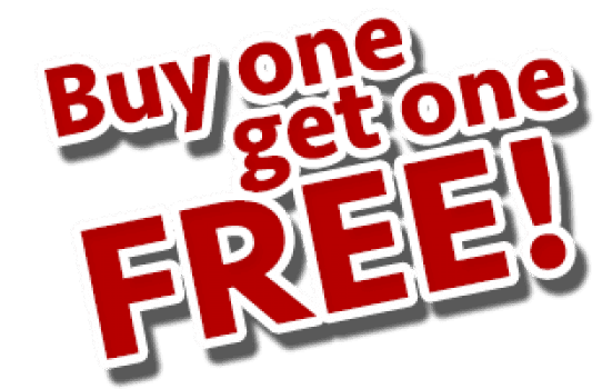 Buy One – Get One