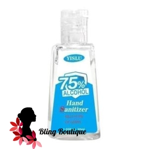 FDA Certified Portable Travel-Sized Hand Sanitizer Bottle 30ml