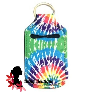 Neoprene Hand Sanitizer Holder for 1.0oz/30ml Bottles – TIE DYE