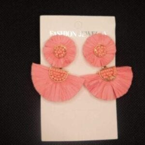Peach Duo Earrings