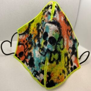 Colorful Skull Covering